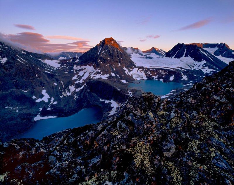 Montagnes scandinaves