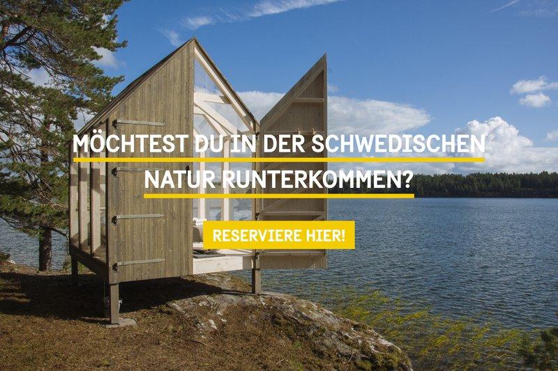 Möchtest du der Schwedischen Natur runterkommen?